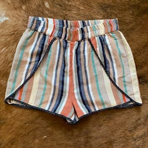 Boho Cotton/Flax Blend Summer Shorts!